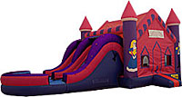 Princess 2 Lane Slide Wet/Dry Combo