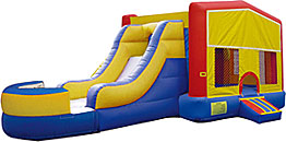 Modular Inflatable Bounce House Slide Combo