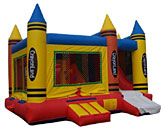 Crayon 4N1 Inflatable Bounce House Slide Combo