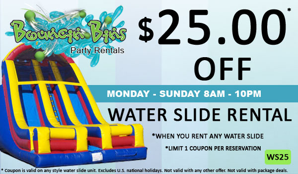 Tri Cities Coupon for Water Slide Rental