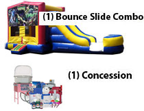 Water Slide, bounce house rentals, obstacles boise bouncin bins