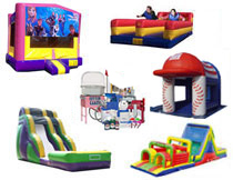 Corporate event texas bouncin bins