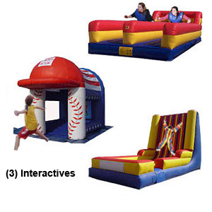 interactive sports rentals boise bouncin bins