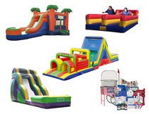 school event rentals idaho bouncin bins