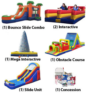 austin Ultimate fun bounce house package